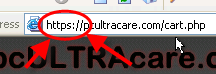 store url contains https